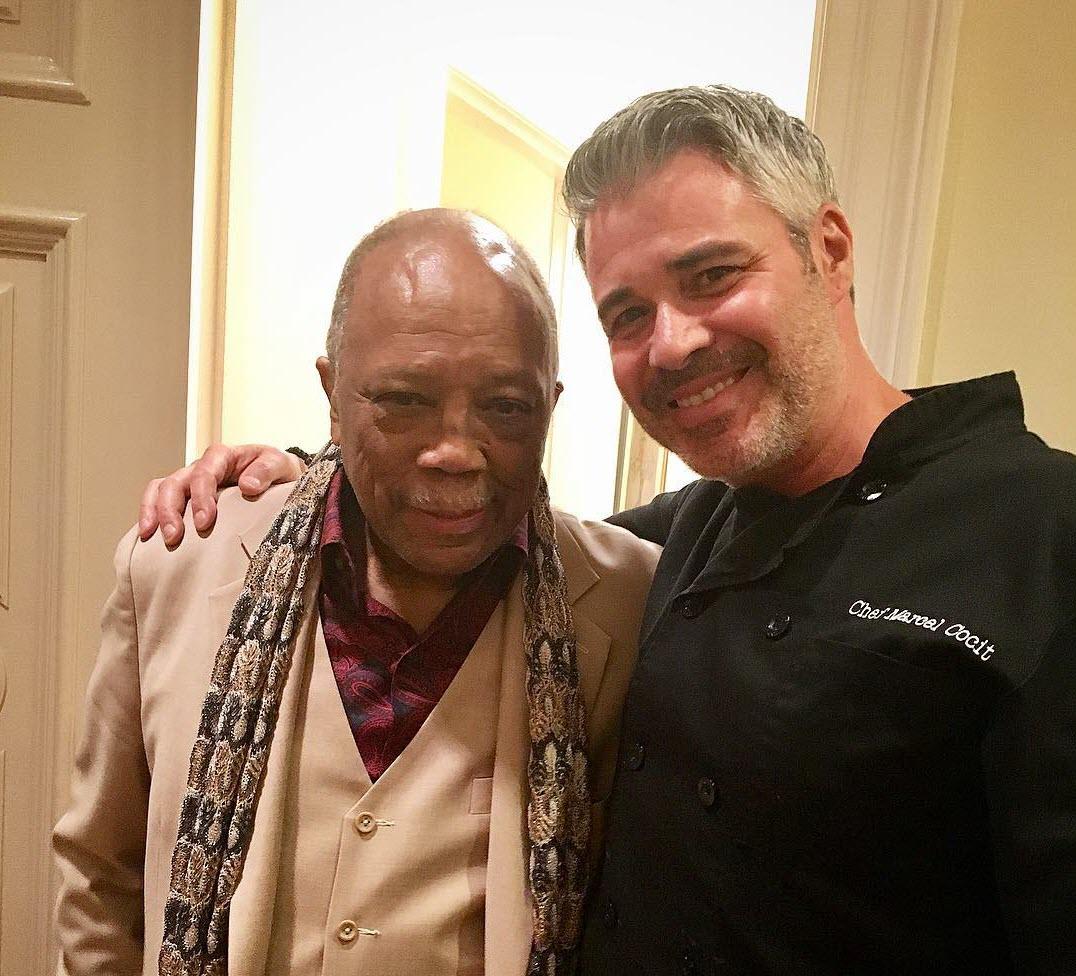 Cooking for Quincy Jones