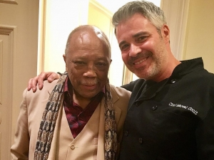 Cooking for Quincy Jones