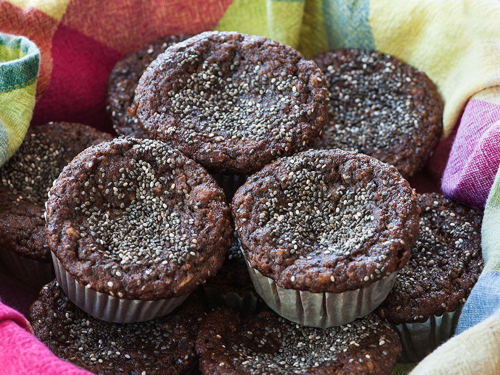 gluten-free-chocolate-banana-chia-seed-muffins